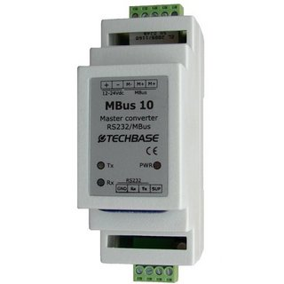 MBus 10 - Converter M-Bus Master to RS 232