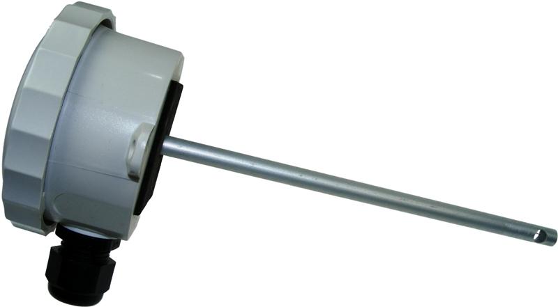 Single Point Duct Air Velocity Sensor 0...8 m/s - 0...10Vdc output