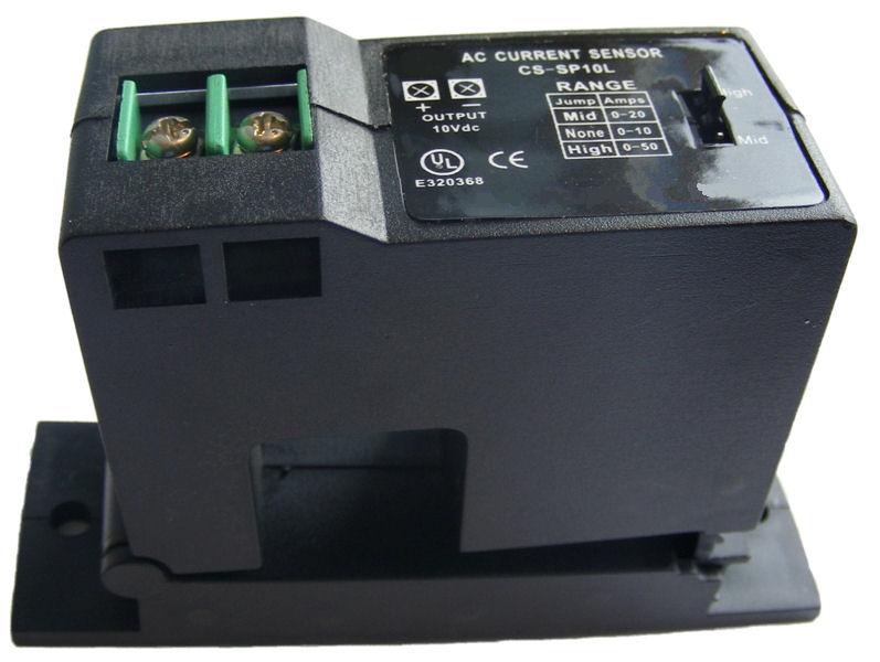 Split Core Current Sensor 0...10Vdc output - Range 0...10/20/50A