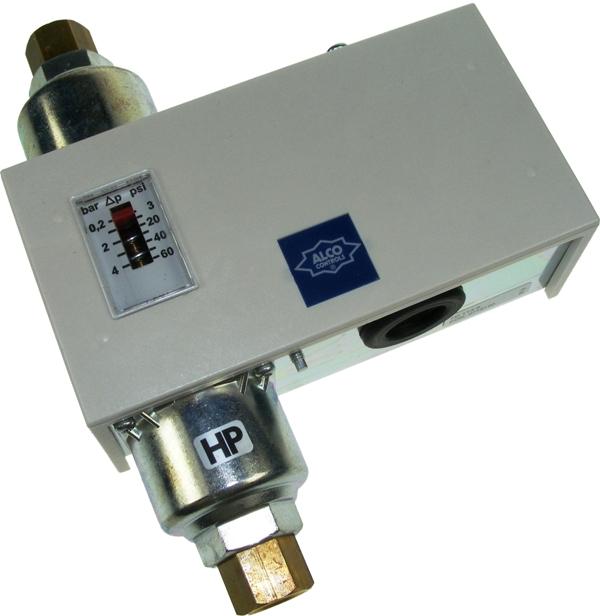 Liquid Differential Pressure Switch 0.3-4.5 bar