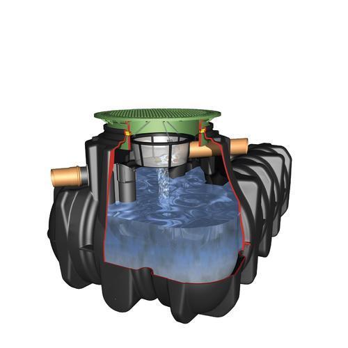 1500L Garden Rainwater Harvesting Kit