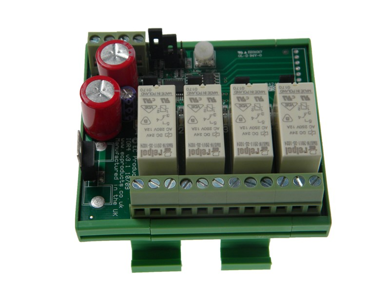 Four Stage Relay Module