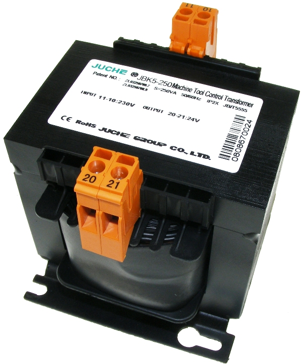 230Vac to 24Vac transformer 50VA