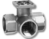 25mm 3 port valve Kvs 6.3