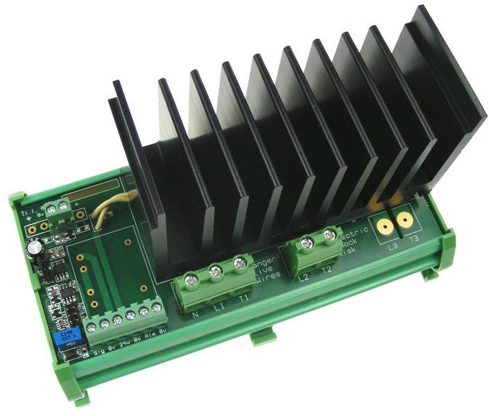 7Kw 230Vac Single Phase Thyristor Power Controller  - self-powered