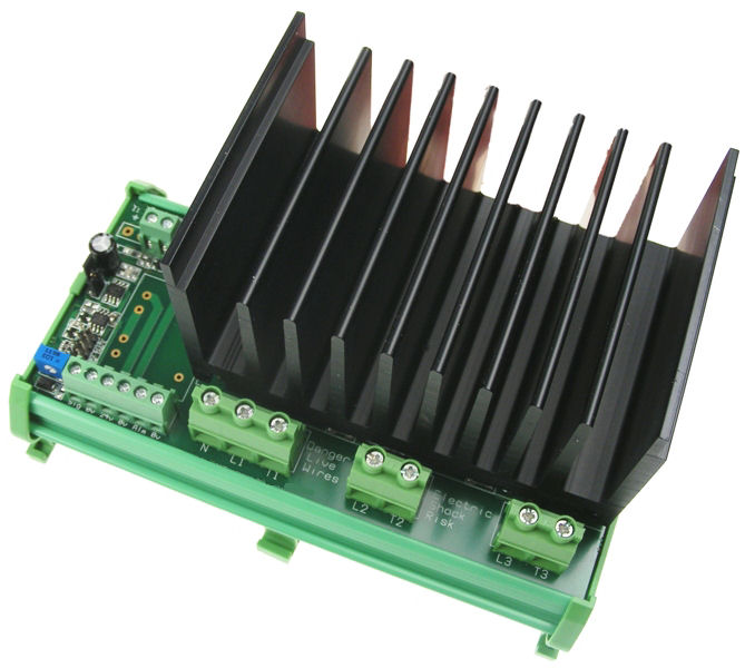 12Kw 415V Three Phase Thyristor Power Controller - self-powered