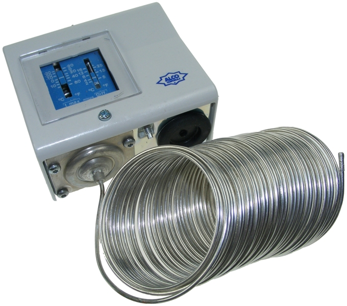 Manul reset frost protection thermostat - IP65