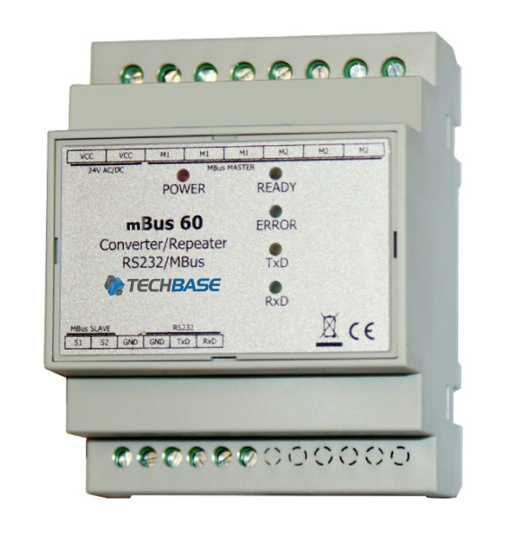 MBus 60 - Converter M-Bus Master to RS 232