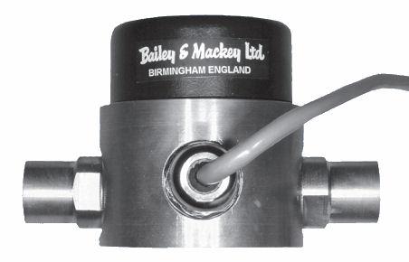 Liquid Differential Pressure Sensor 0/10Vdc 0-4 bar