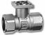 15mm 2 port valve Kvs 1.6