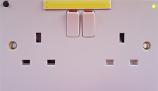 Emergency Light Socket (2 Gang)