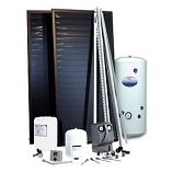 Solar Two Panel Combi Converter Kit 180Ltr