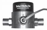 Liquid Differential Pressure Sensor 0/10Vdc 0-2 bar