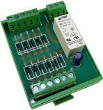 10 channel alarm integrator module 24Vac/dc
